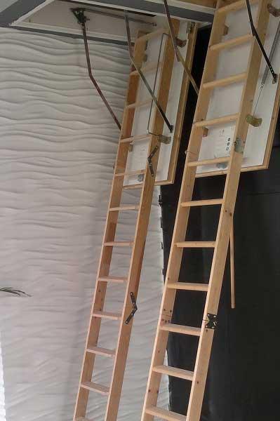 Çatı Merdiveni Uygulamasi