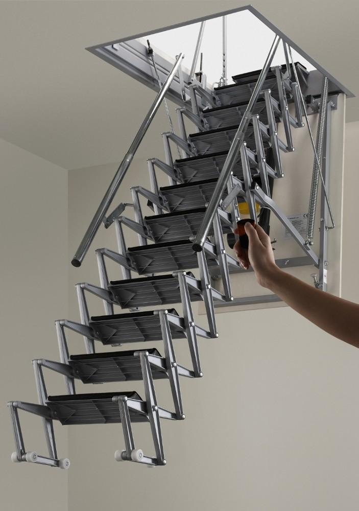 Elektrikli Çatı MerdiveniModeli