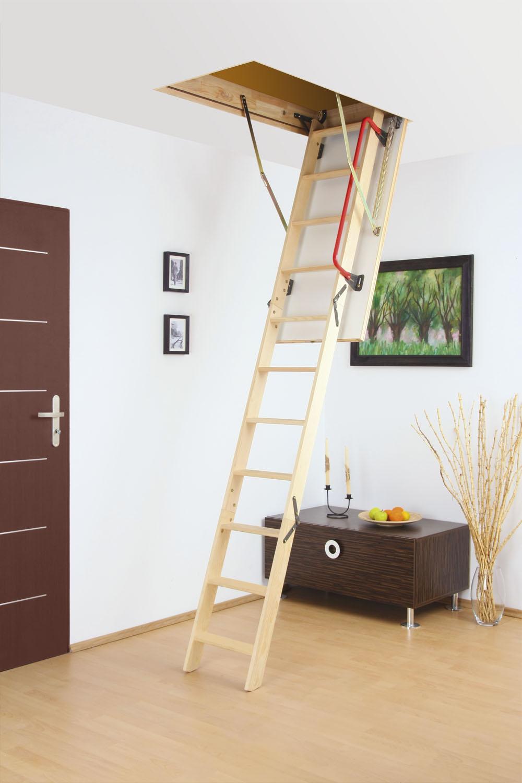 Fakro Lwk Ahşap Çatı Merdivenleri3