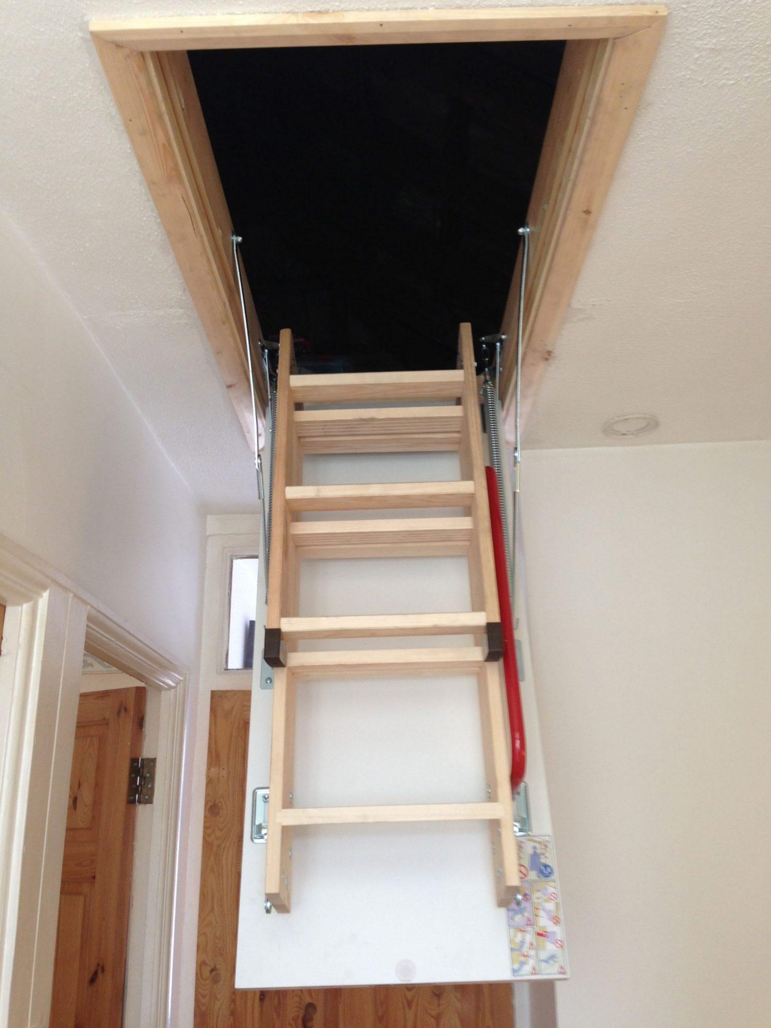 Fakro Lwk Ahşap Çatı Merdivenleri4